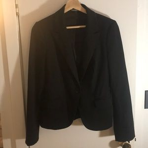 Express Fitted Black Blazer